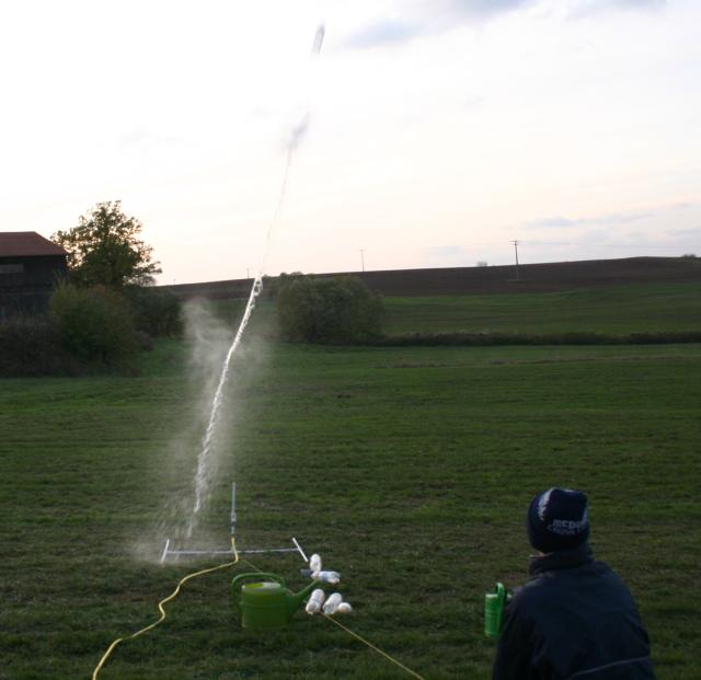 Water Bottle Rocket Nose Cone: Launch Of A Simple Water Rocket